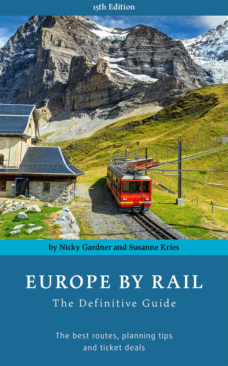 'Europe By Rail - The Definitive Guide.' Photo: © hidden europe. Unauthorized use is prohibited.