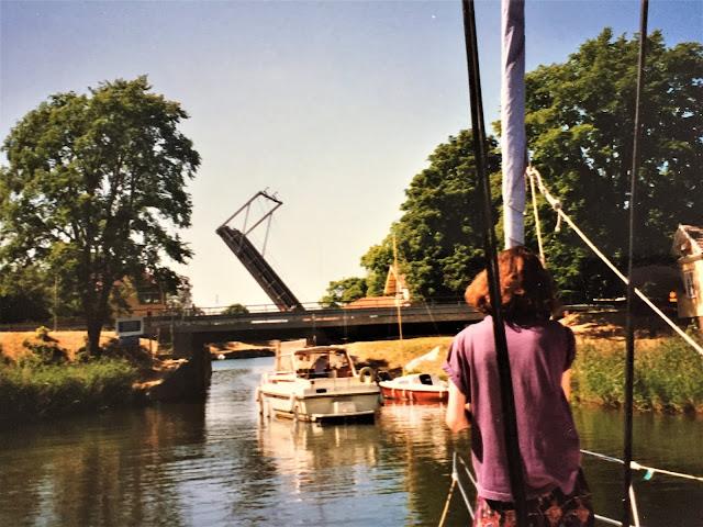 Brückenspektakel im Göta-Kanal Schweden