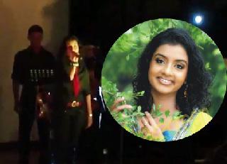 How future doctor Saheli Gamage sang the song 'Jiye tho jeeye kese' at SAITM Talent Show