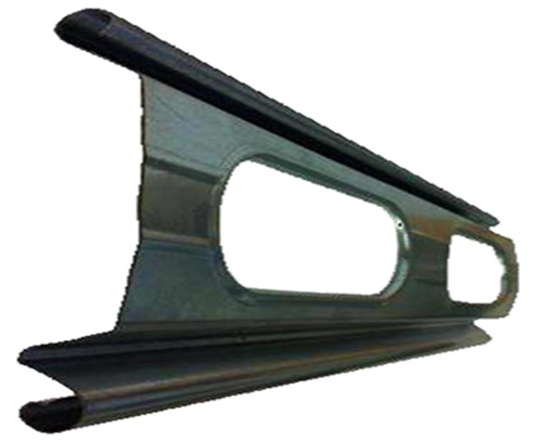 Lama troquelada persiana hierro
