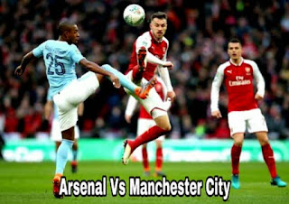 Jadwal arsenal vs man city