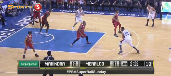 Meralco def. Mahindra, 86-83 (REPLAY VIDEO) September 11