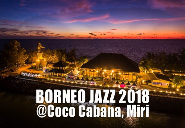 Coco Cabana Borneo Jazz Festival
