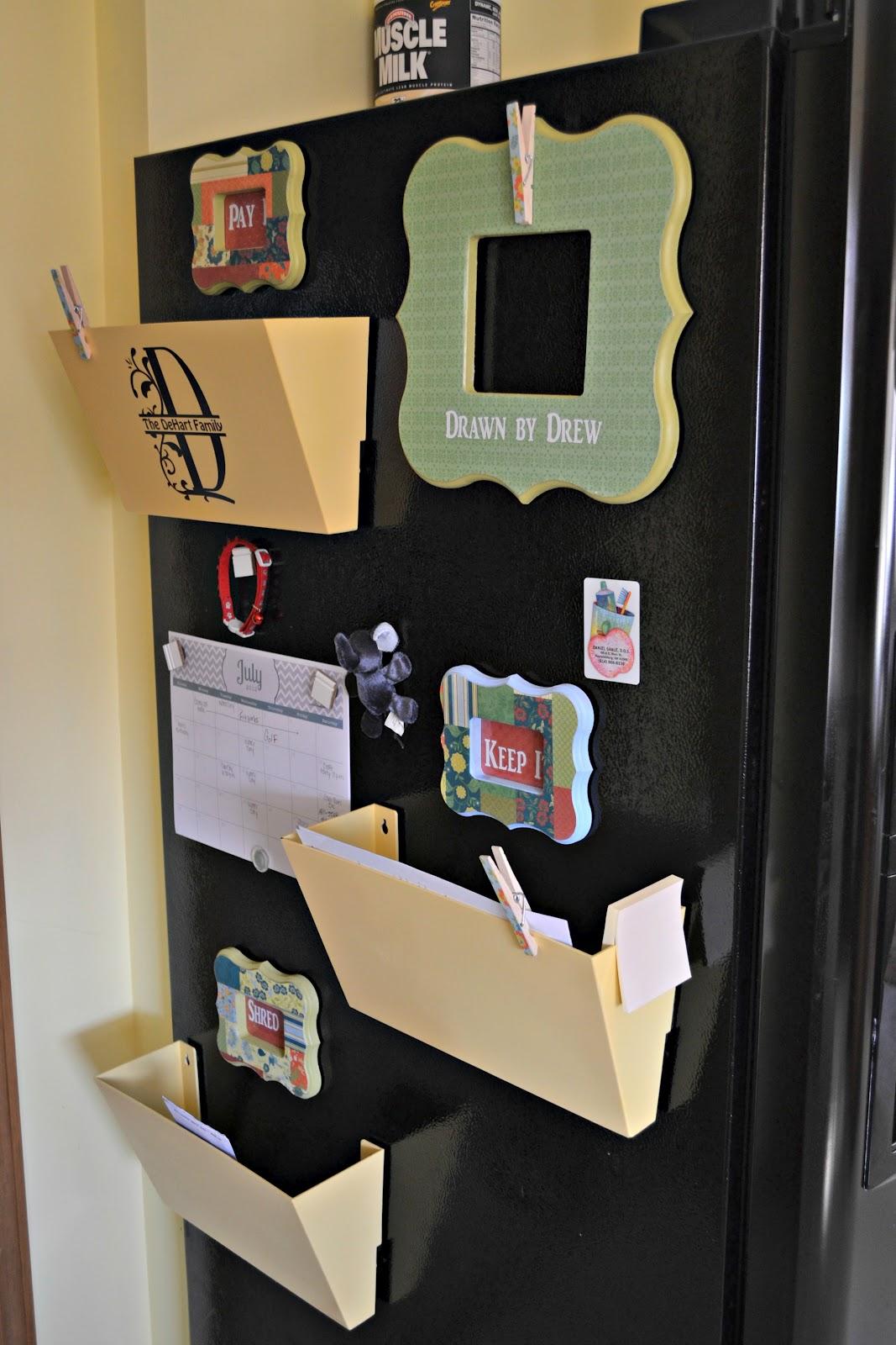 refrigerator reorganization