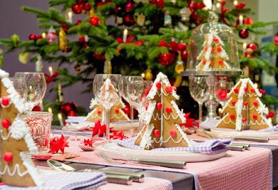 Cara Menghias Meja Makan Untuk Natal