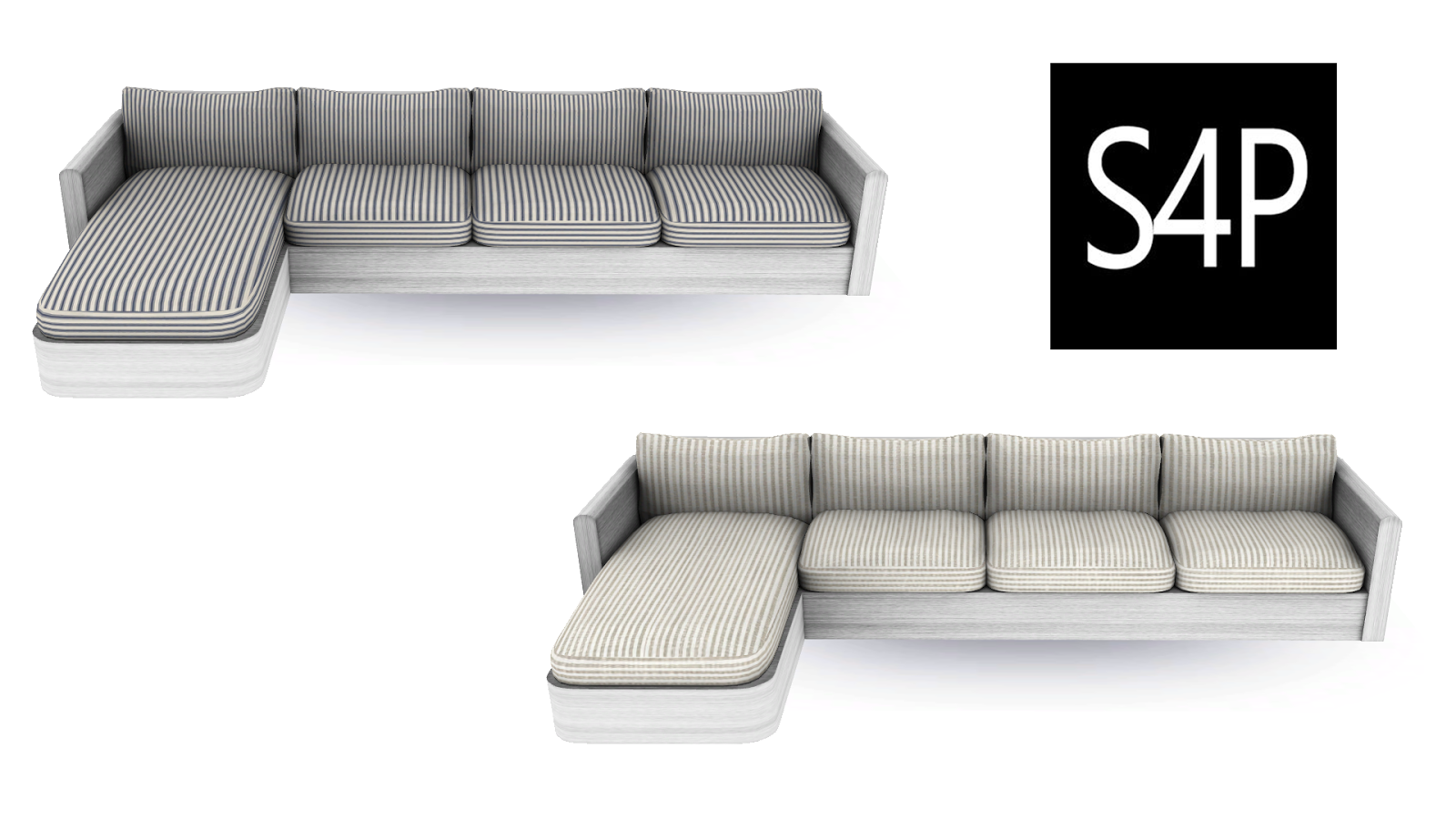 Download sims 4 pose modern sectional sofa mesh seating for Sims 3 sectional sofa download