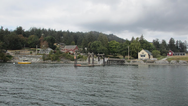 West Sound Orcas Island county dock