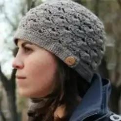 Gorro de Abanicos Crochet