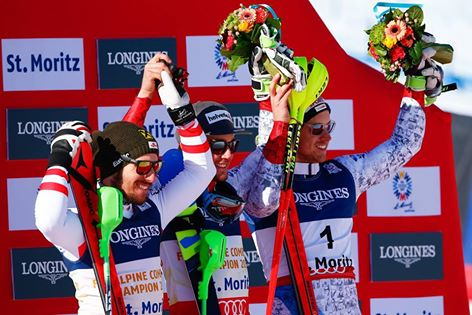 Luca Aerni Wins St. Moritz 2017 Combined Gold