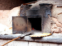 Traditional wood burning oven