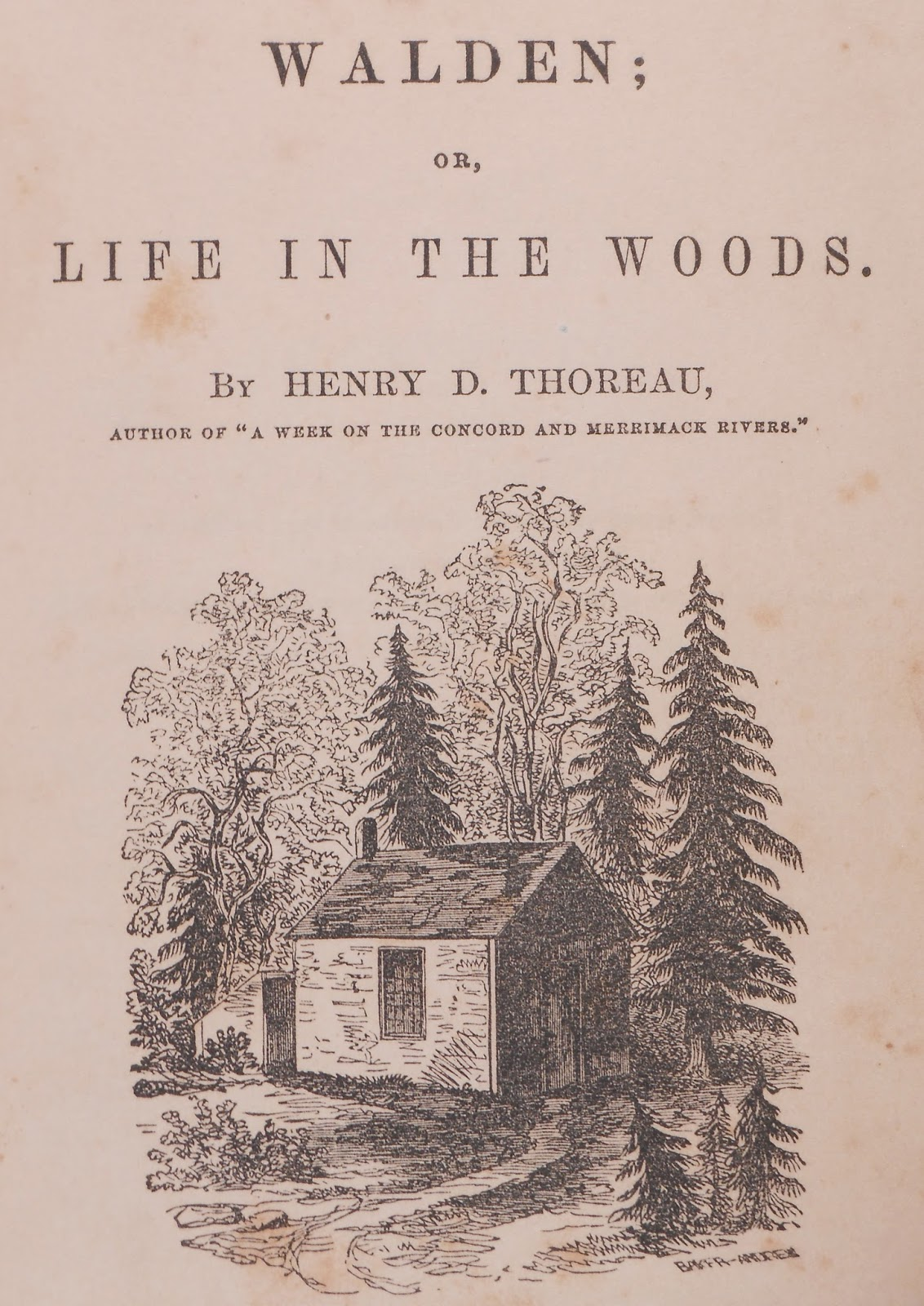henry davis thoreaus life around the concord Henry david thoreau learn with or life in the woods, walden and civil disobedience, from that if you simplify your life, the world around you will seem.