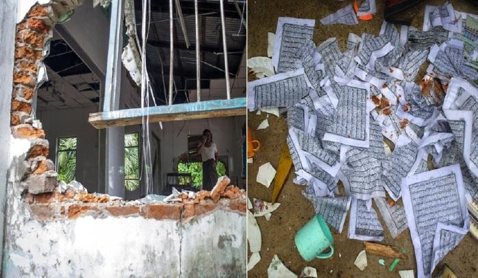Penduduk Tidur Di Balai Polis, Penganut Buddha Ceroboh Masjid