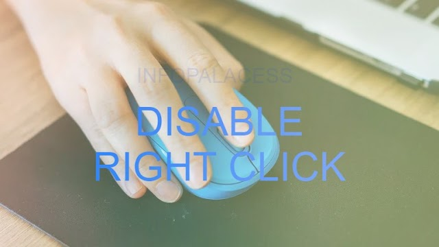 Disable Right Click with JavaScript Disable Context Menu