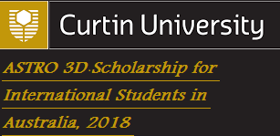 ASTRO 3D Scholarship for International Students in Australia, 2018, Eligibility Criteria, Method of Applying, Description, Field of study, deadline