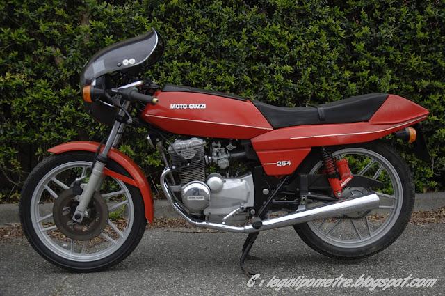 Les cousines Benelli / Moto Guzzi 254 (Années 70) _DSC0005