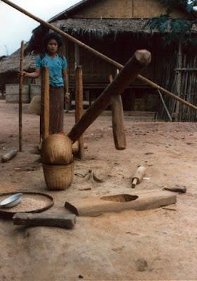 A mountain village in Nan, North Thailand (1985) by Jonathan Stiles