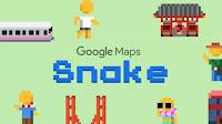 Gioca a Snake su Google Maps