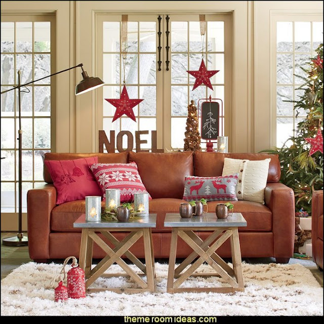 Rustic Christmas  decorating ideas - rustic Christmas decorations  - Vintage  -  Rustic  - Country style Christmas decorating -  rustic Christmas decor - Christmas stockings - vintage rustic christmas decorations  Rustic Glam Vintage Christmas decor -  Rustic Country Vintage christmas tree ideas - Christmas stockings