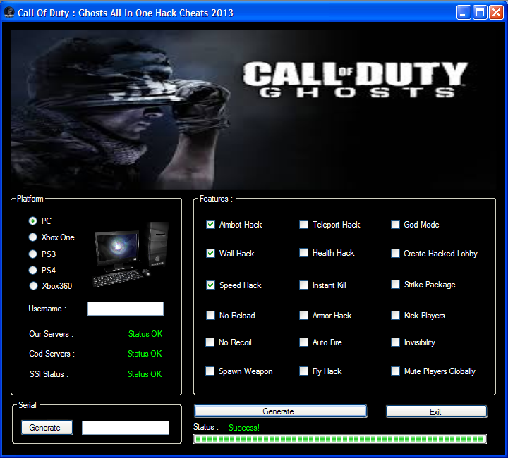 Here Be Porpoises Call Of Duty Ghosts: Latest Cheats And Tools
