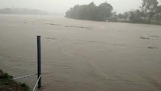 Hujan Deras, Waspada Banjir Sungai Begawan Solo