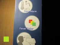 Anleitung: GHB Kontaktloses Infrarot Stirnthermometer Fieberthermometer Köperthermometer Temperature für Baby und Haushalt