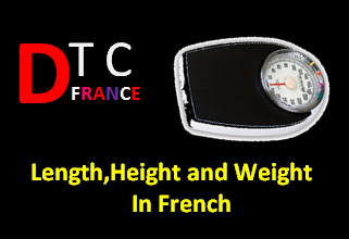Asking Length,Height and Weight measurement in French