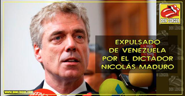Maduro declara persona non grata al embajador de Alemania y le da un plazo de 48 horas para irse