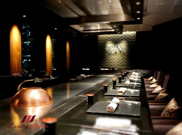 keio plaza hotel tokyo yamanami teppanyaki counter