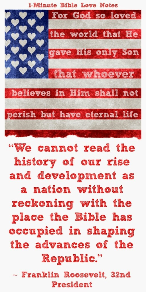 Presidental quotes about Bible, American Christian history