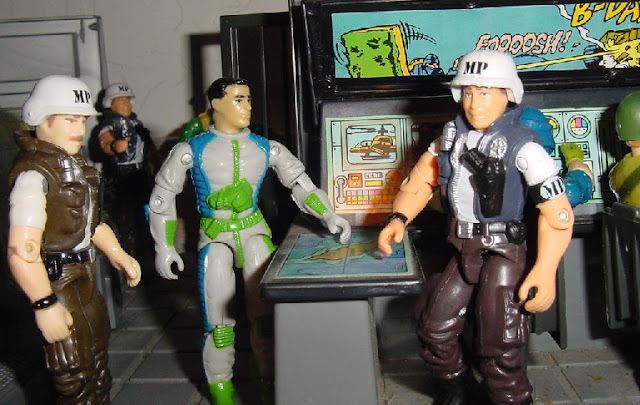 2000 Law and Order, ARAHC, Funskool Law, 1994 Countdown, 1983 G.I. Joe Headquarters, HQ