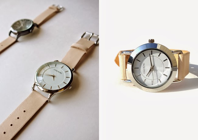 62adad1ca5 Natural Leather Large and Small Face Watches