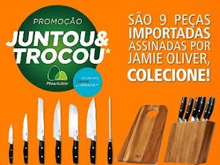Promoção Pão de Açúcar 2017 Juntou Trocou Facas Coleção