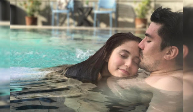 LOOK: Luis Manzano And Jessy Mendiola Caught In Sweet Position In The Pool!