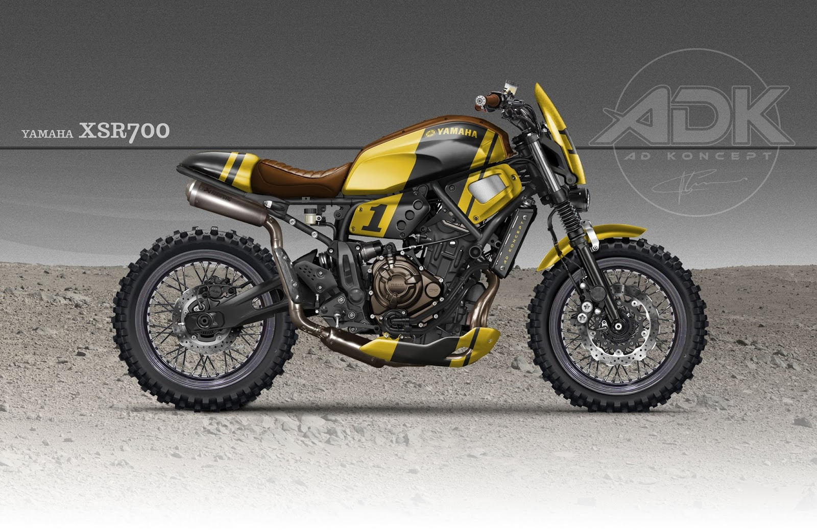 adk xsr 700 scrambler. Black Bedroom Furniture Sets. Home Design Ideas