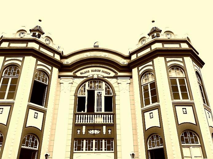 Palácio Marcos Konder, em Itajaí