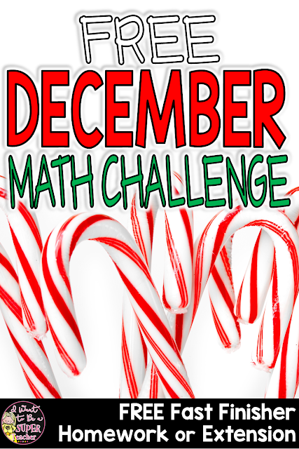 https://www.teacherspayteachers.com/Product/December-Math-Challenge-FREE-Holiday-Fast-Finisher-Homework-Center-Extension-2889512