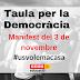 La Taula per la Democràcia, en defensa de les institucions catalanes i la cohesió social