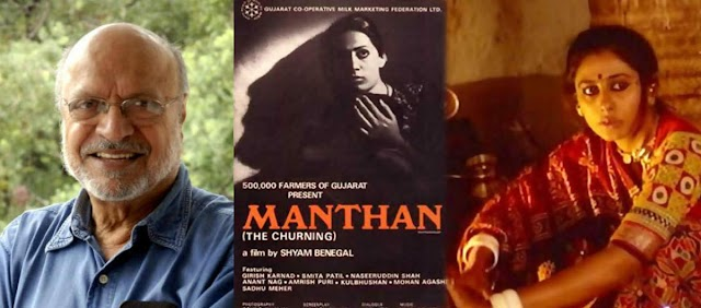 Shyam Benegal, film maker of Manthan (The Churning) churns one more award