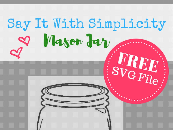 Free Mason Jar SVG File