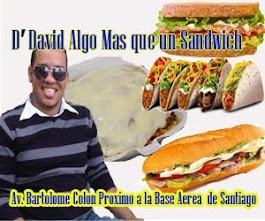 D David algo mas que un Sandwich