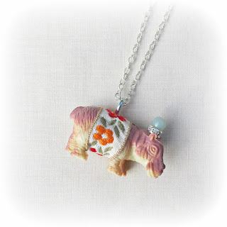 image anthro-inspired party animal necklace hippopotamus two cheeky monkeys jewellery