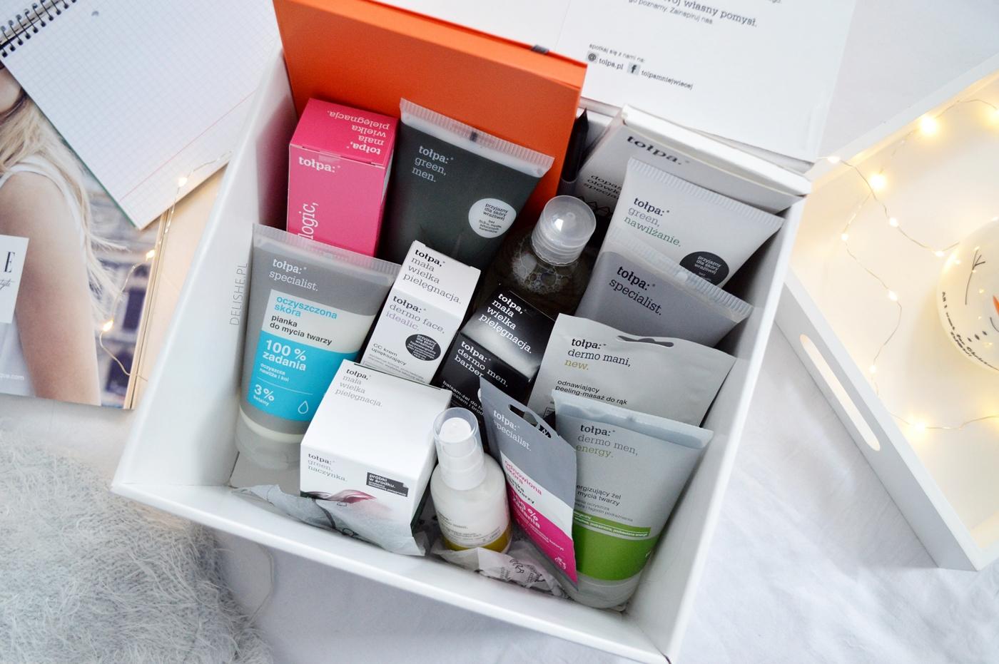 kosmetyki Tołpa do pielęgnacji blog