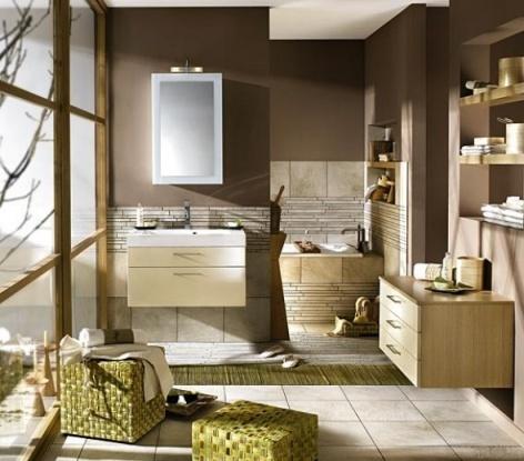 Ideas para Pintar el Baño - Renovación   Diseños de Baños