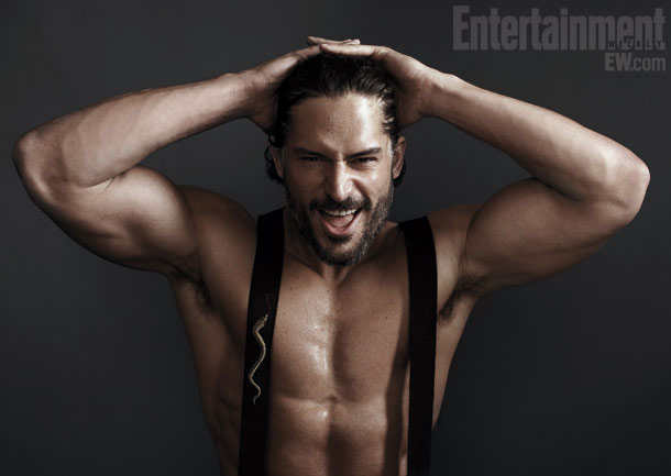 Joe Manganiello - Magic Mike - Entertainment Weekly by Gavin Bond