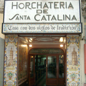 Horchatería Santa Catalina en Valencia