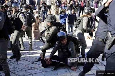 Dua Orang Tewas, 1 Bayi Terluka dalam Kerusuhan Yerusalem