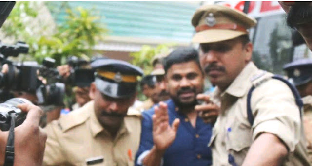 Actor dileep in police custody