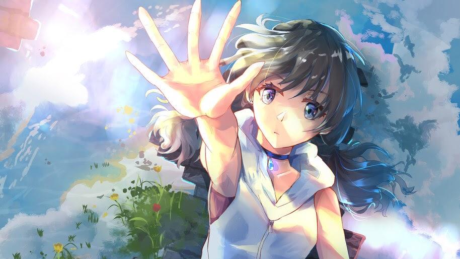 Hina Amano Weathering With You 4k Wallpaper 3 884