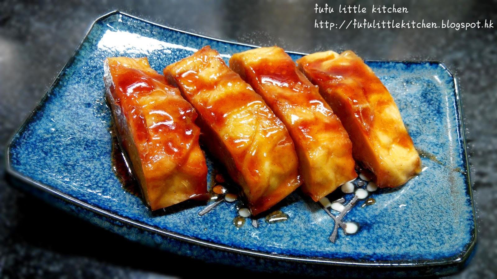 芙芙little kitchen: 超級簡易素菜 - 叉燒醬素鴨 (附食譜)