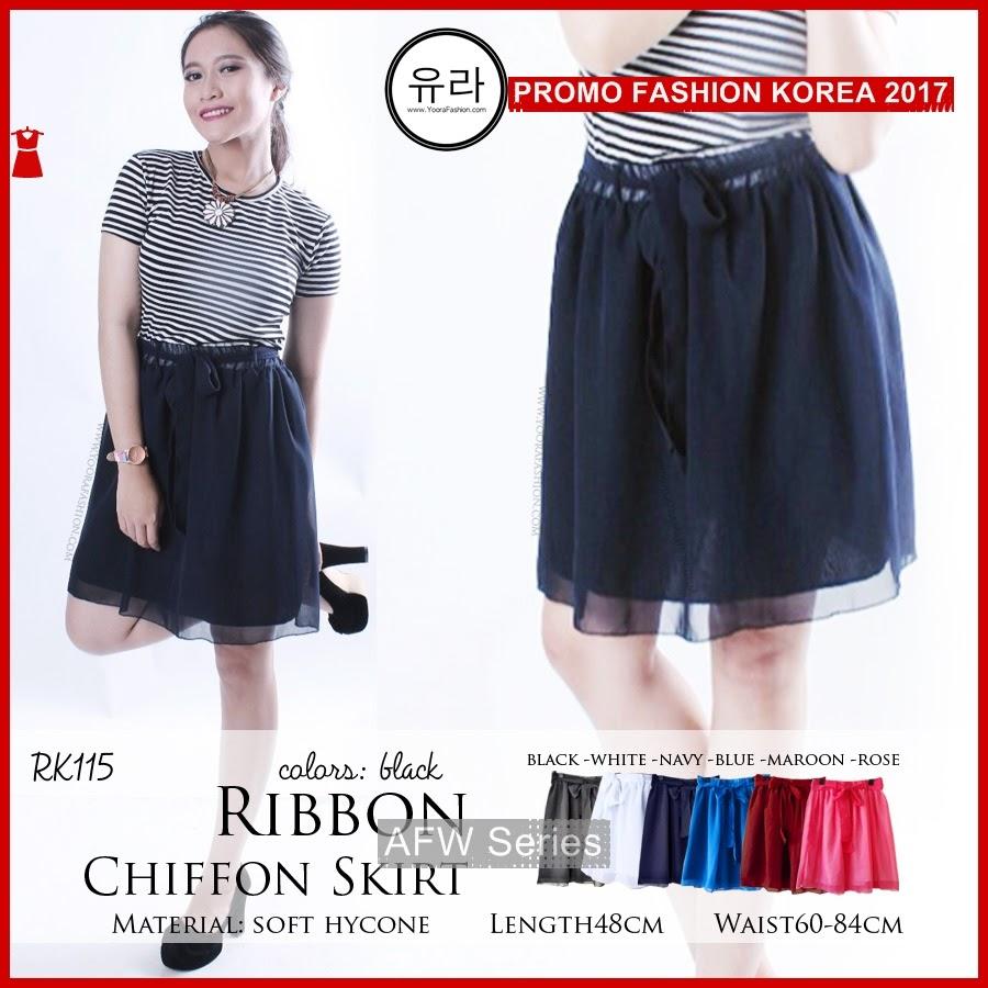 BAMFGW137 Ribbon Short Skirt Wanita PROMO BMG